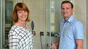 Annette Draheim und Steffen Herrmann von Herrmann - DIE BADGESTALTER